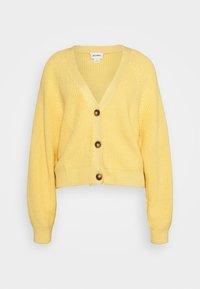 Cardigan - yellow
