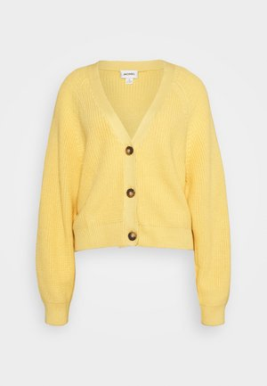 ZETA CARDIGAN - Cardigan - yellow