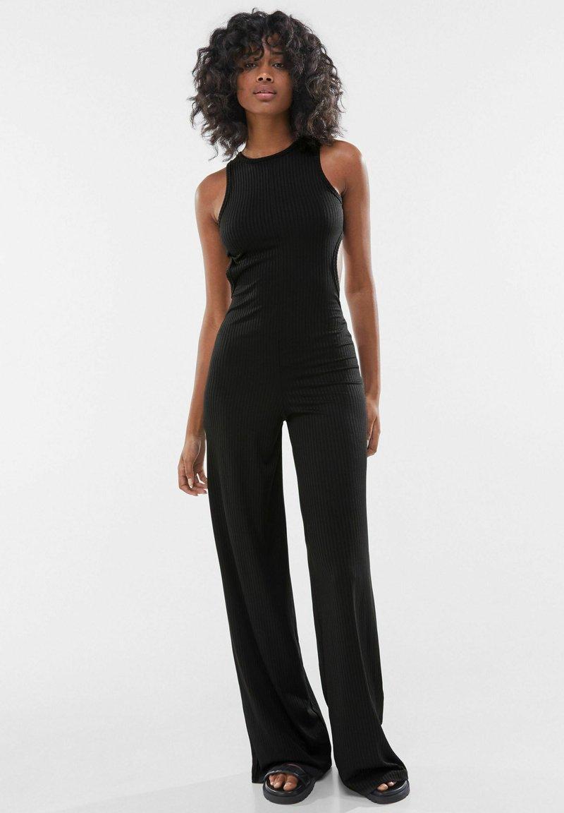 Bershka - Tuta jumpsuit - black