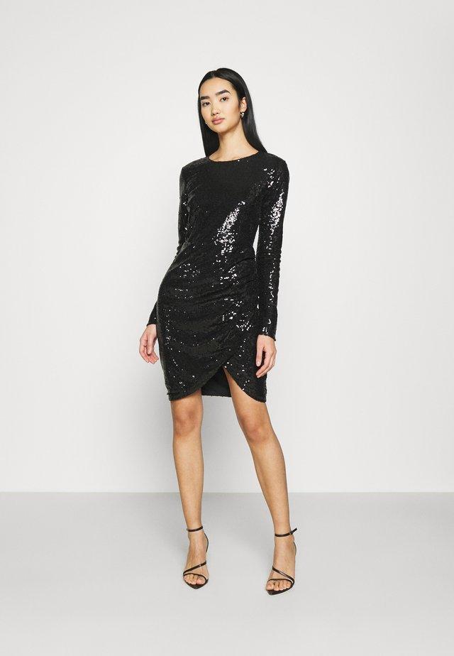 GET IT ALL DRESS - Vestido de cóctel - black