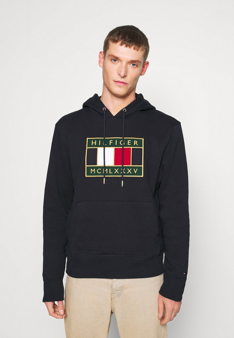 Tommy Hilfiger - ICON BADGE HOODY - Sweat à capuche - blue