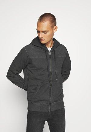 WYATT - Zip-up hoodie - vintage black