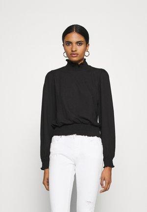 ONLZILLE SMOCK - Bluse - black