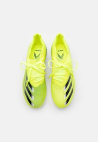 adidas Performance - X GHOSTED.1 FG UNISEX - Moulded stud football boots - solar yellow/core black/royal blue - 3