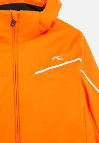 Kjus - BOYS FORMULA JACKET - Ski jacket - orange - 3
