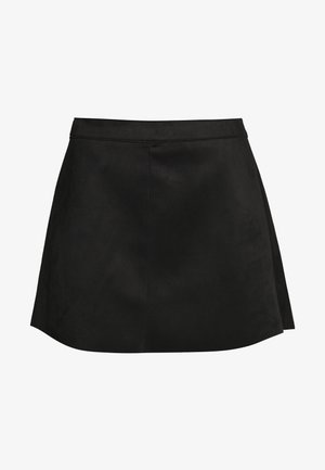 ONLLINEA BONDED SKIRT  - A-linjekjol - black