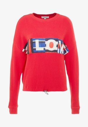 OLYMPIA - Sweatshirt - rojo abril