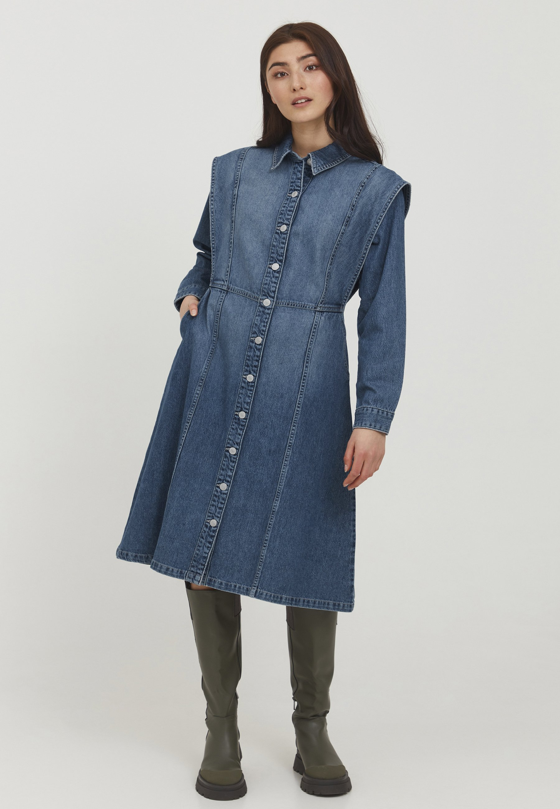 Damen BYLYRA - Blusenkleid