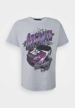 ATLANTA RACING UNISEX - Print T-shirt - grey