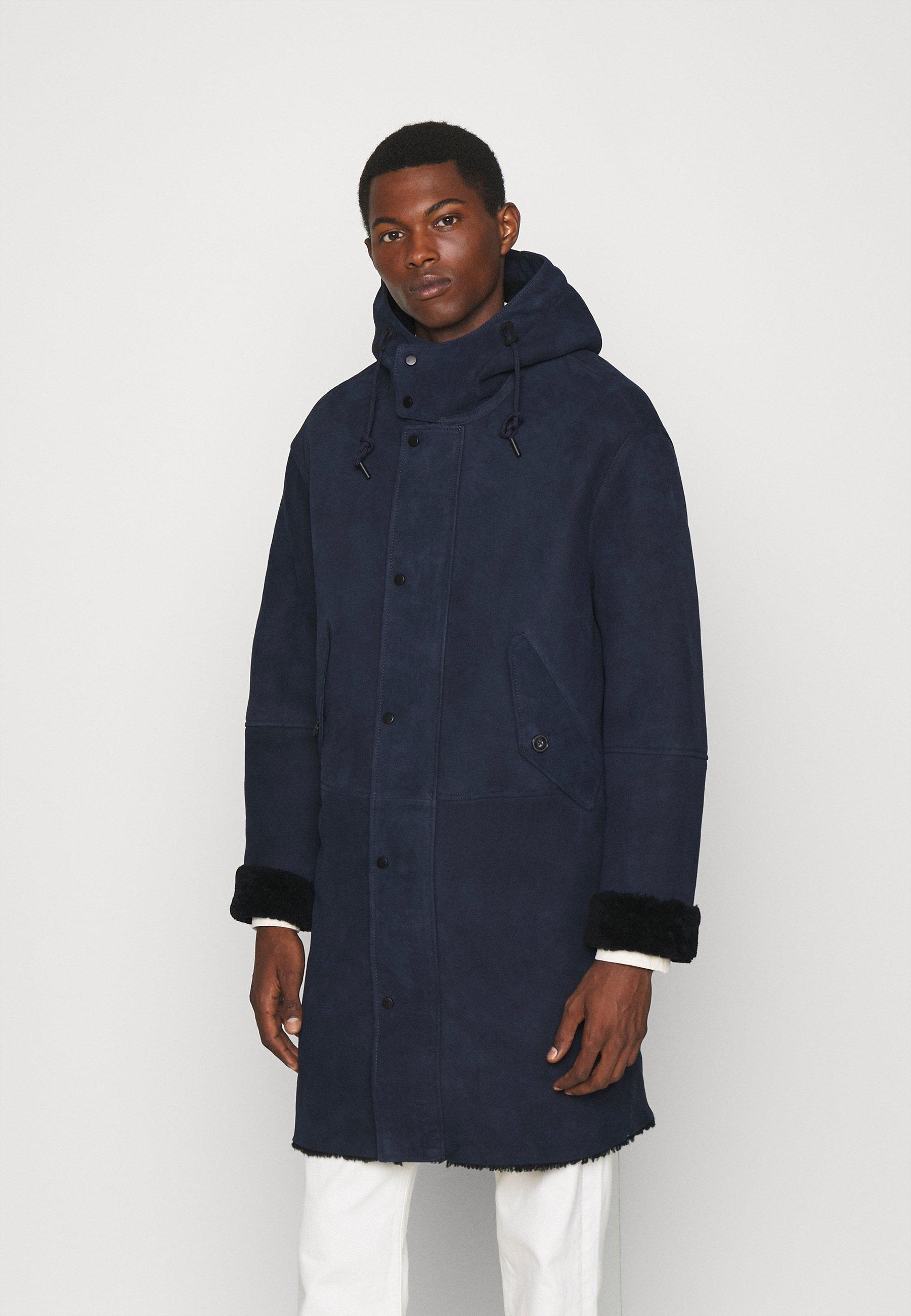 Men SHEARLING - Winter coat