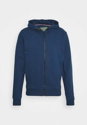 veste en sweat zippée - petorl blue