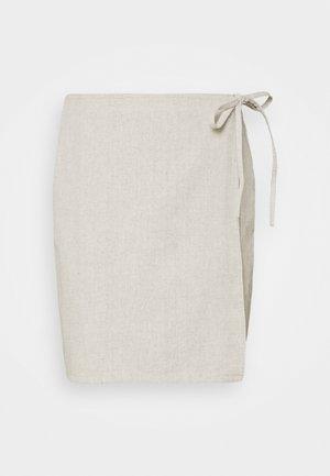 OXALIDE SKIRT - Spódnica mini - offwhite