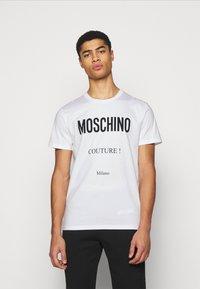 MOSCHINO - Print T-shirt - white - 0
