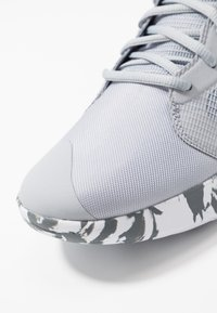 Nike Performance - PRECISION III - Basketball shoes - wolf grey/dark grey/white - 5