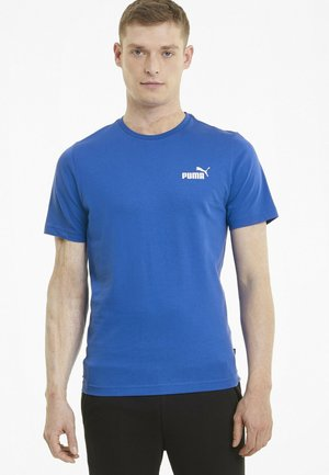 ESS SMALL LOGO TEE - Basic T-shirt - dark blue
