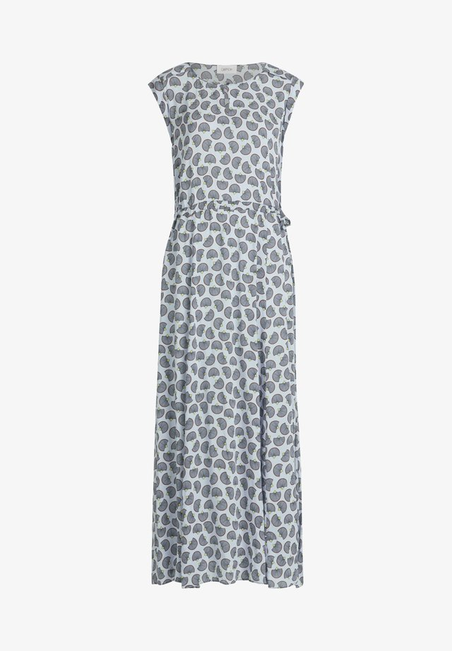MIT MUSTER - Day dress - weiß/blau