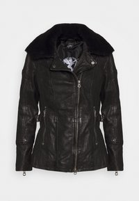 Gipsy - SALLIE - Leather jacket - black - 5