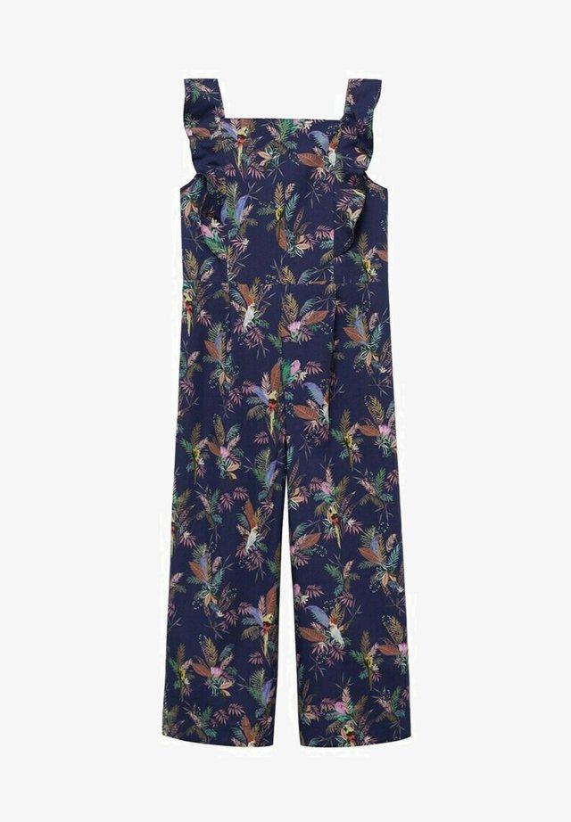 POESIE - Jumpsuit - dunkles marineblau