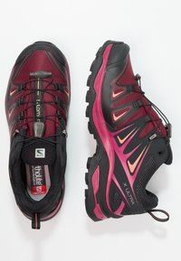 Salomon - X ULTRA 3 GTX  - Hiking shoes - tawny port/black/living coral - 1