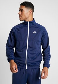Nike Sportswear - SUIT - Tracksuit - midnight navy/white - 0