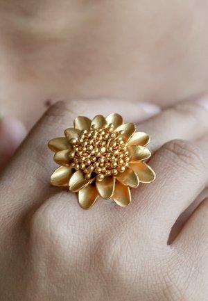 SUNFLOWER - Ring - gold