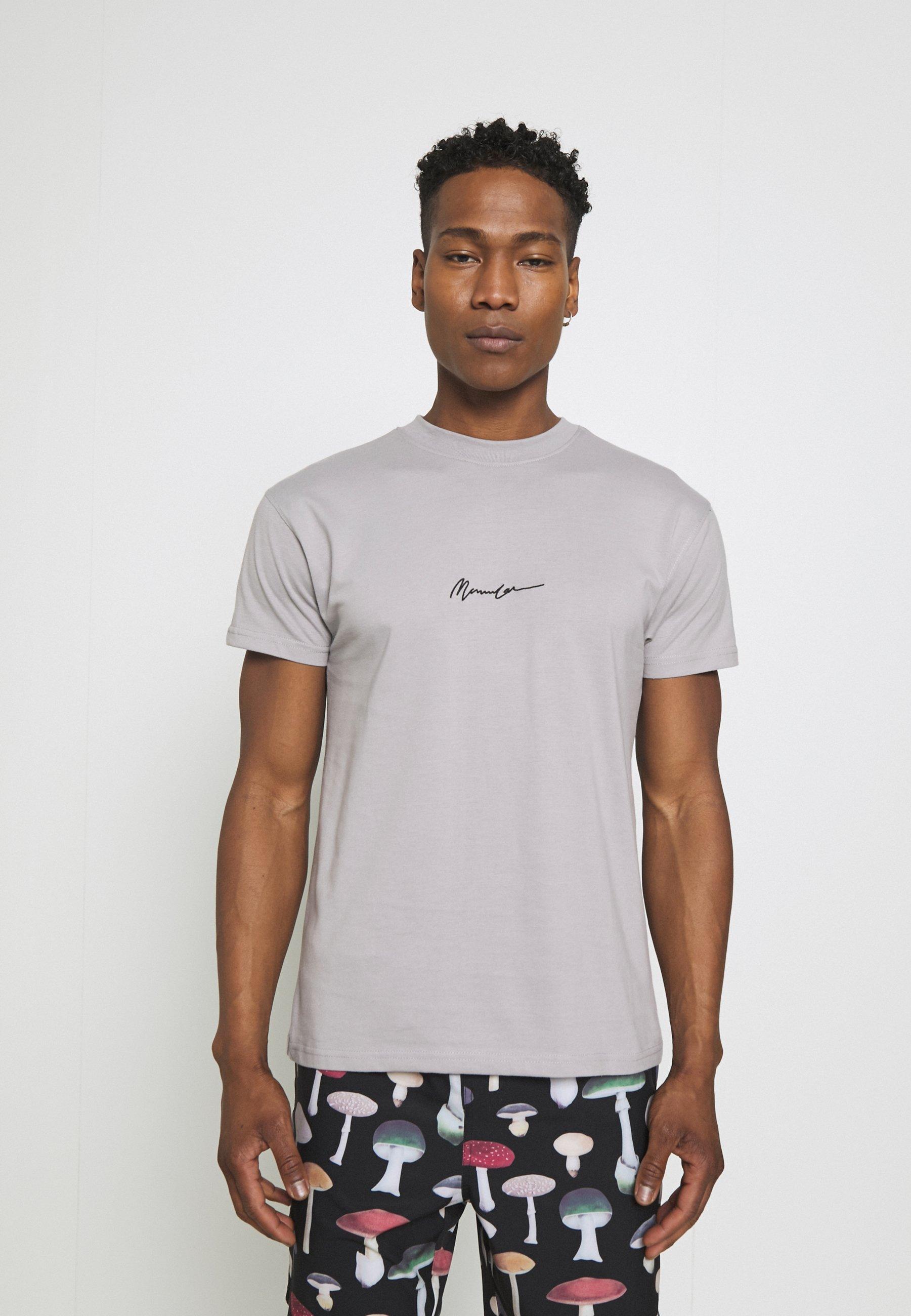 Men ESSENTIAL REGULAR RELAXED BASIC MENNACE SIG TEE - Print T-shirt