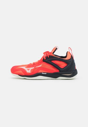 WAVE MIRAGE 3 - Zapatillas de balonmano - ignition red/white/salute