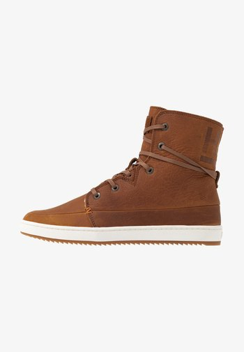 CHESS  - Sneakers alte - cognac/offwhite