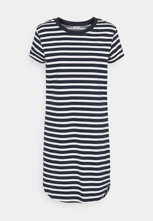 JDYIVY LIFE DRESS - Jerseyjurk - sky captain/cloud dancer