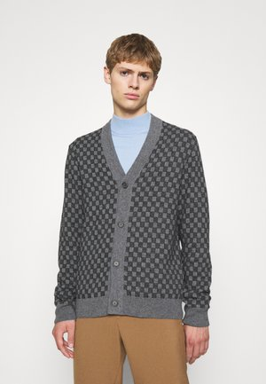 CHECK  - Cardigan - gris