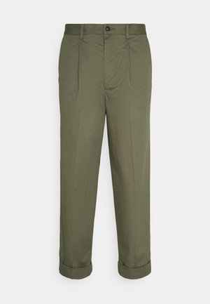 PRESTON PANTS - Broek - lichen green