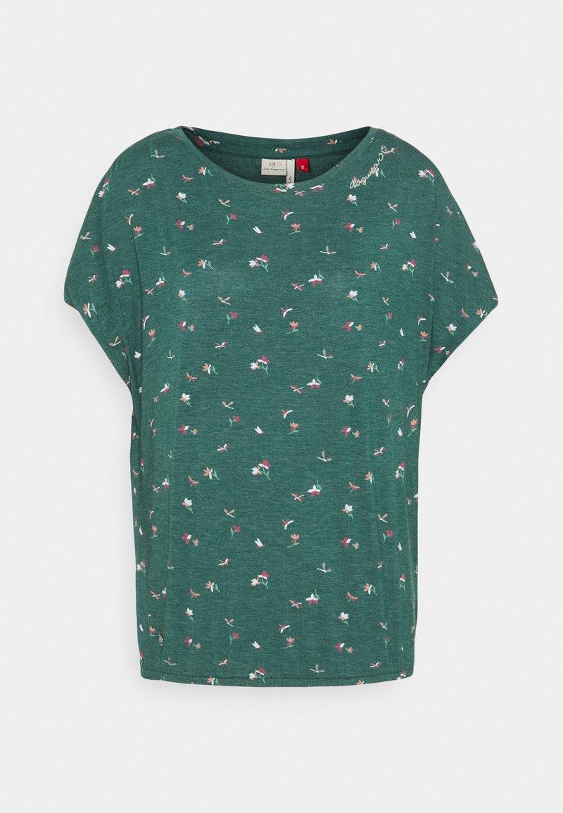 Ragwear - PECORI - T-shirts med print - dark green