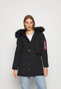 Alpha Industries - POLAR JACKET - Winter coat - black - 2