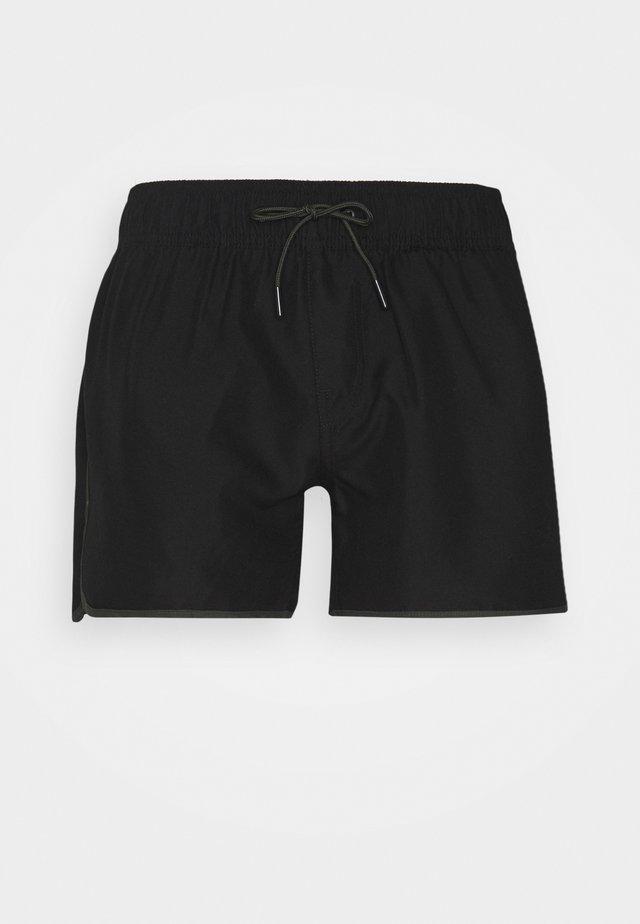 CARNIC SOLID - Zwemshorts - black