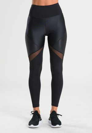 RHEA  - Leggings - black