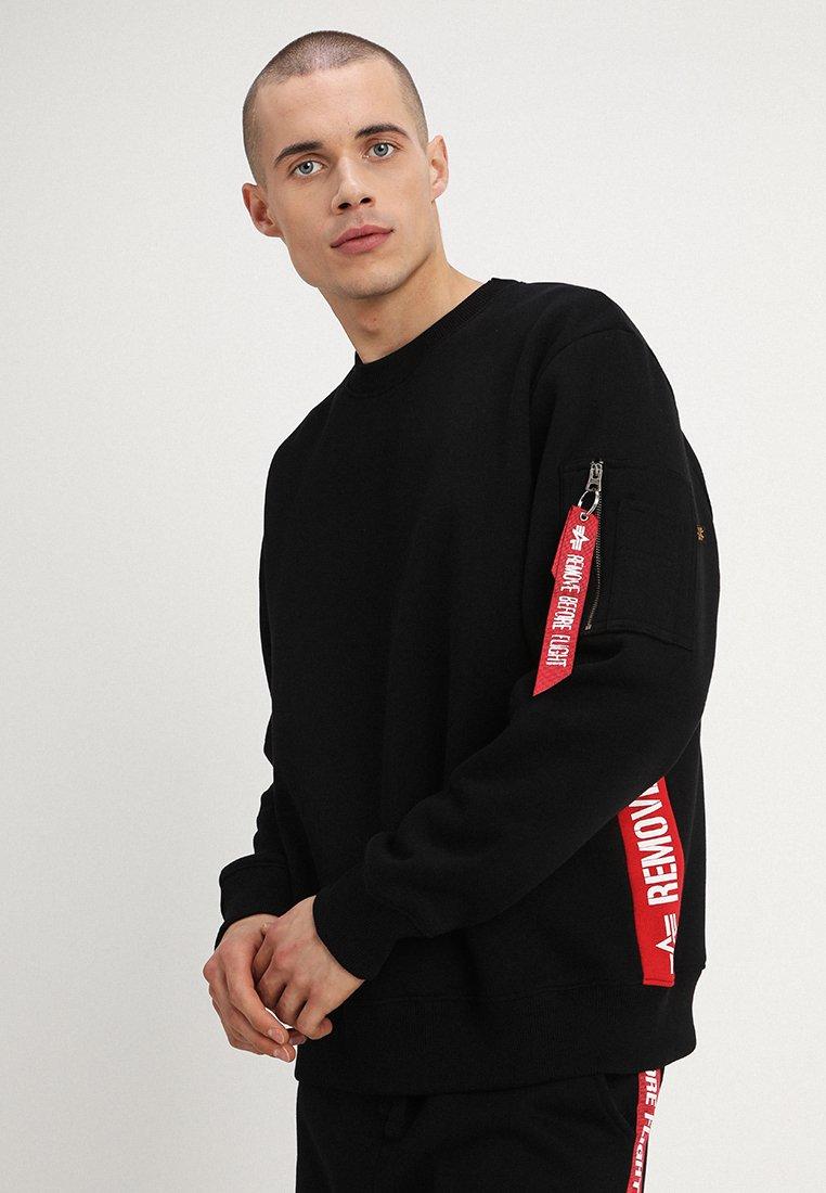 Alpha Industries - INLAY TAPE - Sweatshirt - black