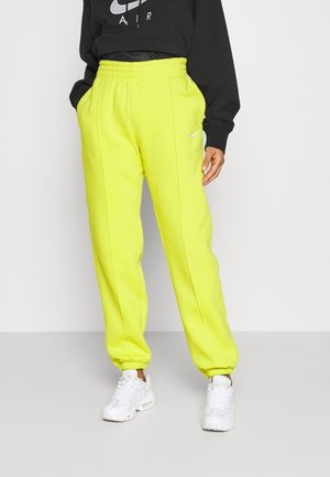 PANT TREND - Tracksuit bottoms - high voltage/white
