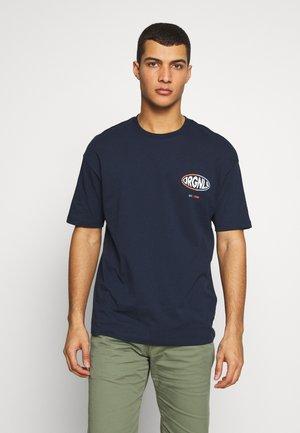JORLOGGS TEE CREW NECK  - T-shirt imprimé - navy blazer