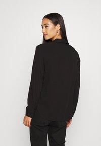 Object - OBJBAYA - Button-down blouse - black - 2
