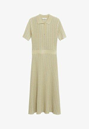 Pletené šaty - pastellgrün