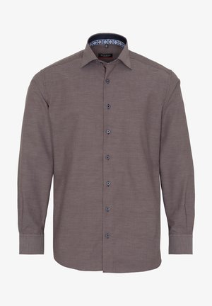MODERN FIT - Shirt - braun