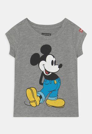 MICKEY MOUSE CLASSIC  - T-shirt imprimé - grey heather