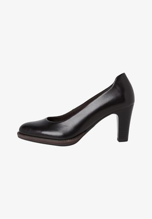 Classic heels - black leather