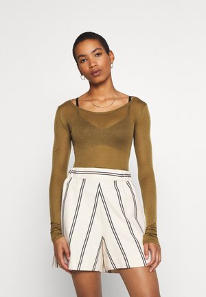 MASSACHUSETTS - Long sleeved top - asperge