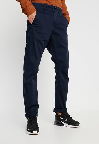 VETAR  - Chinot - premium micro str twill - mazarine blue