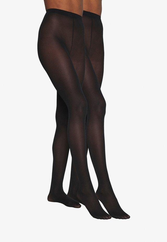 REFINED 40 DENIER 3 PACK - Sukkahousut - black