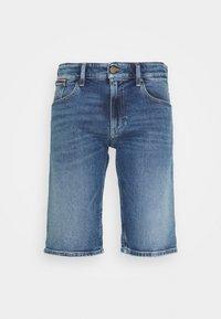 Tommy Jeans - RONNIE - Szorty jeansowe - blue denim - 4