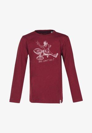 Pitkähihainen paita - brick-red