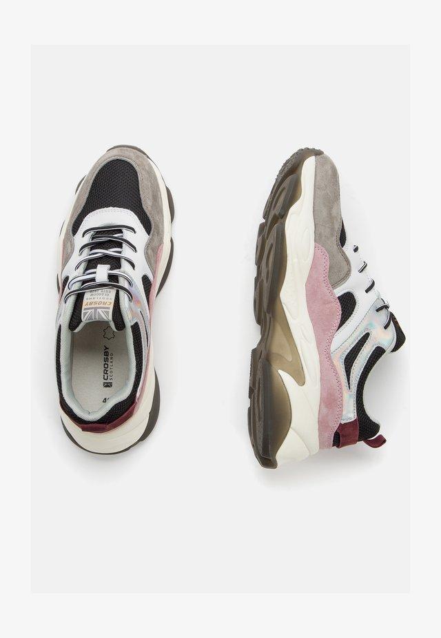 Sneakers laag - black/pink
