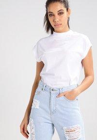 Cheap Monday - DIG  - T-shirt basic - white - 0